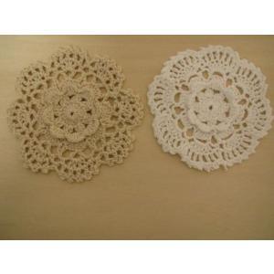 手編みのモチーフ fairy-lace