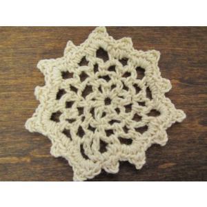 手編みのモチーフ(結晶) fairy-lace