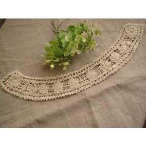 アンティーク風綿ケミカル襟レース、衿レース、付け襟(フィユテ)|fairy-lace