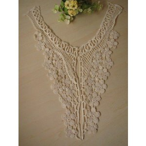 SALE!綿ケミカル襟レース、付け襟、2枚襟(ルヴェール)|fairy-lace