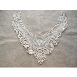 手芸アンティーク風 チュール 襟 レース エリザベート 衿|fairy-lace