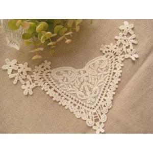 襟レース 衿レース 付け襟 (エミリー)|fairy-lace