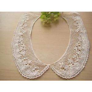 SALE!アンティーク風綿ケミカル襟レース、衿レース、付け襟(ショコラ)|fairy-lace