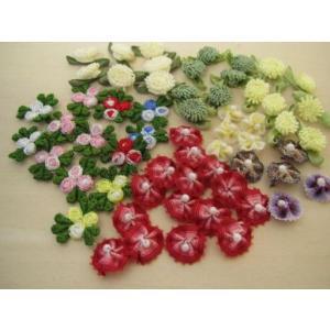 刺繍ミニモチーフ、アップリケ、ワッペンセット|fairy-lace