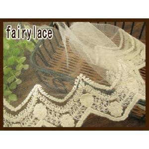 チュールレース レース 手芸 (ジョセフィーヌ) fairy-lace