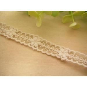 手芸 細幅 チュールレース (シャルル) カット売り  レース fairy-lace