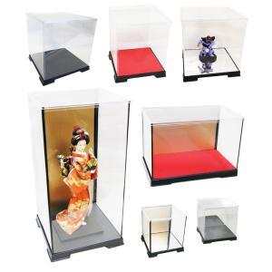 コレクションケース フィギュアケース 人形ケース ミニカーケース 幅18cm×奥行18cm×高16cm fairy-land 06