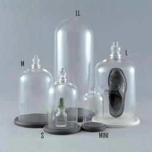 ガラスドーム ガラスケース ディスプレイドーム フロイドLL Floyd GLASS DOME|fairy-land