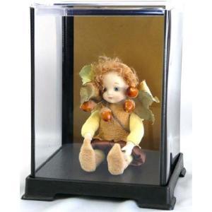 コレクションケース フィギュアケース 人形ケース 背面金張り仕様 W12cm×D12cm×H8cm|fairy-land|05