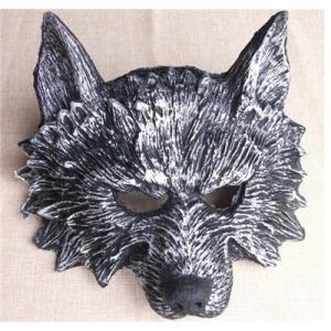 セール中 ハロウィンスクリームマスク  仮面 レディース メンズ コスプレ道具 大人用 グッズ コスチューム パーティー 狼 オオカミ
