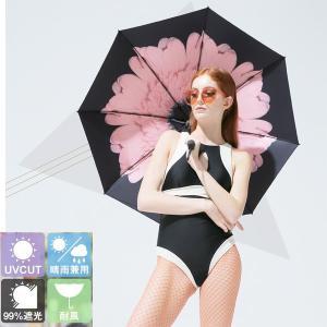 日傘 折りたたみ  デザインは甘過ぎず、大人の女性を意識したラインナップ。 大人ゆるカワ日傘です。 ...