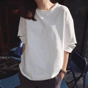 Tシャツ レディース きれいめ 40代 春夏 上品 半袖Tシャツ ブラウス 綿 白トップス オシャレ...