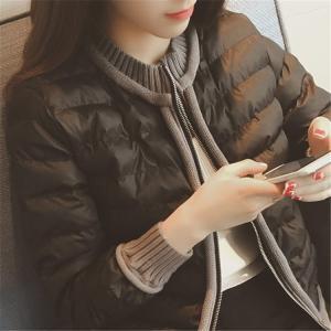 中綿コート レディース 50代 20代 軽量 細身 トップス 安い 冬服 Aライン 膝下 おしゃれ ...