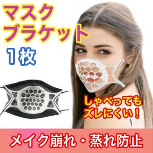 1枚 マスクプラケット インナーフレーム マスクブラケット マスクフレーム 3D立体構造 夏用 暑さ対策 熱中症対策 呼吸 メイク崩れ防止 ひんやり 男女兼用|fairyselection