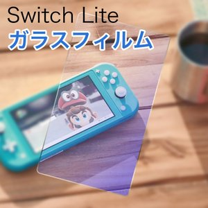 Nintendo Switch Lite 保護フィルム スイッチ ライト 9H 強化ガラス 防爆 ガラスフィルム|fairyselection