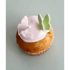 バニラ カップケーキ パピヨン faitenbonbons