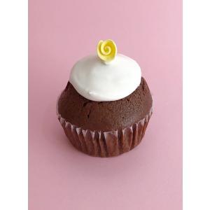 ココア カップケーキ ローズ|faitenbonbons