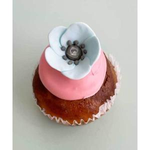 シーズンカップケーキ ブルーフラワー faitenbonbons