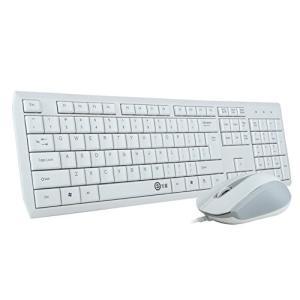 e元素ゲーミングキーボードマウスセット V100デスクトップラップトップ用スーパーサイレントマルチメ...