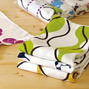 ブルーム 和風柄ガーゼてぬぐい フェイスタオル 泉州タオル キッチンタオル 薄手 速乾 軽量 デザインおまかせ 6枚セットの商品画像|ナビ