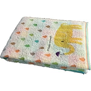 ハートウェル 今治タオル ゾウと雨2 バスタオル イエロー 810121の商品画像|ナビ