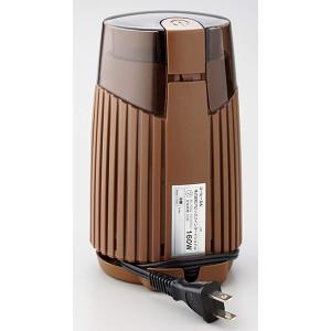 APIX 『Drip Meister』 ワンプッシュ式電動コーヒーミル(容量約20g) ブラウン A...