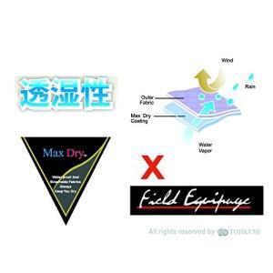 トオケミ(TOHKEMI) Field Equipage 全天候型 アウトドア(透湿レイン) ウェア...