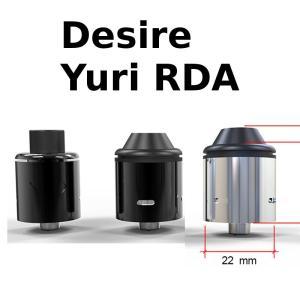 Yuri RDA by Desire リビルダブルアトマイザー MOD RDA 電子タバコ VAPE