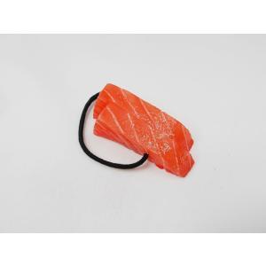 刺身 サーモン 2貫 ヘアゴム|fakefoodjapan