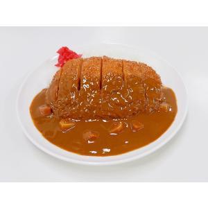 カツカレー 食品サンプル|fakefoodjapan