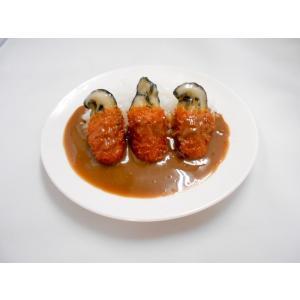 牡蠣フライカレー  小皿|fakefoodjapan