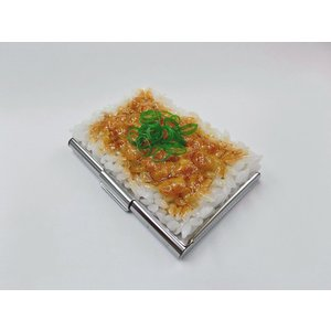 納豆ご飯 名刺入れ fakefoodjapan