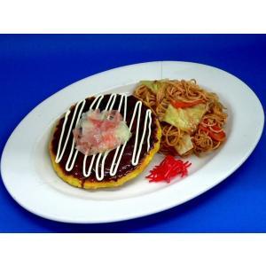 お好み焼き&焼きそば ペアセット 食品サンプル|fakefoodjapan