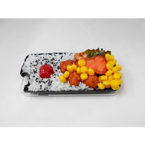 鮭&唐揚弁当(新)iPhone 6/6S ケース|fakefoodjapan