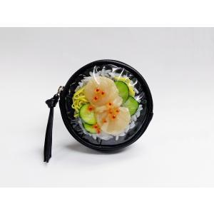 丸型ポーチ:ホタテ丼|fakefoodjapan