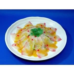 真鯛カルパッチョ 食品サンプル|fakefoodjapan