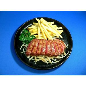 牛フェレ鉄板焼 食品サンプル|fakefoodjapan