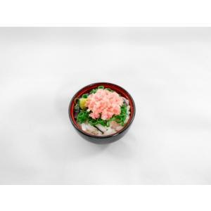 ネギトロ丼  ミニ椀 fakefoodjapan