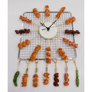 焼鳥 盛り合せ  時計|fakefoodjapan