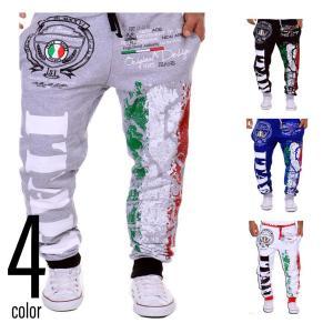 スウェットパンツ Italy イージーパンツ メンズ レディ...