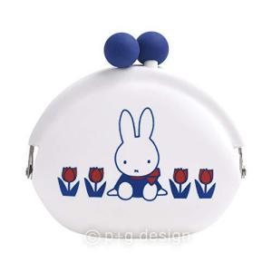 ピージーデザイン POCHI miffy 65th white w9.5×h8.5×d4.5