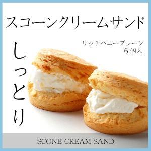 スコーンクリームサンド リッチハニープレーン5P ギフト対応|famfam