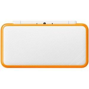 (3DS)Newニンテンドー2DSLL ホワイト×オレンジ(...