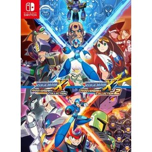 (Switch)ロックマンX アニバーサリー コレクション 1+2(新品)