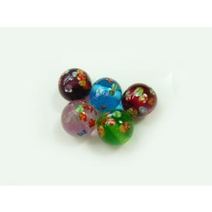 国産とんぼ玉10mm球 (クリアー) 9002/10(1個) 手芸材料|familiamia
