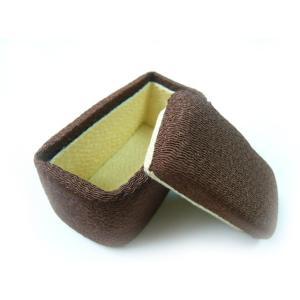 ちりめん細工 ケーキボックス シンプル 長方形 小物入れ|familiamia