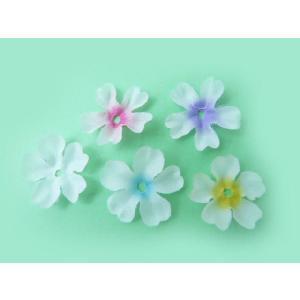 花びら ふくらみのある 桜(約60枚) 造花 髪飾り フラワーシャワー フラワーペタル|familiamia