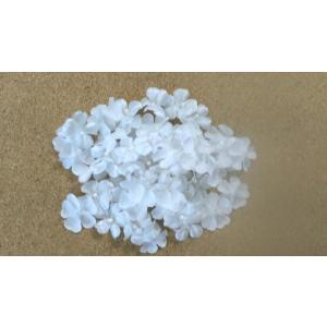 花びら ホワイトシャワー芯付(約50枚) 造花 髪飾り フラワーシャワー フラワーペタル|familiamia