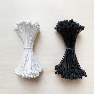 ペップ 花芯 花材 素玉 小(0.5号直径1mm〜2mm)(1束) めしべ おしべになる 手作り アートフラワー ラッピング 手芸材料|familiamia