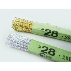 ワイヤー#28金 銀 72cm(200本) 花材 針金|familiamia